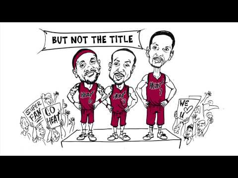 "ESPN ""Numbers Never Lie Whiteboard"" Miami Heat's Chances at a 3-Peat - 321 FastDraw"