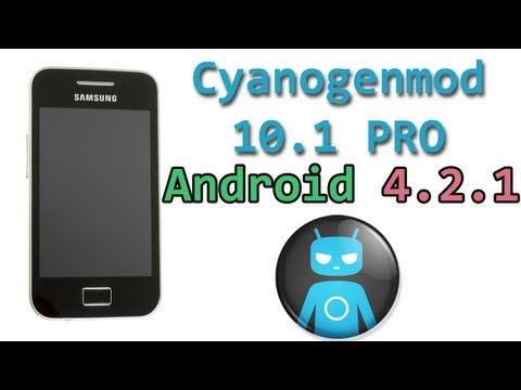 Cyanogenmod 10.1 PRO Nightly Galaxy Ace (Español)