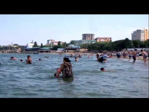 ВИДЕО, Дагестан.  Махачкала. 5 дней на Каспийском море  Пляж