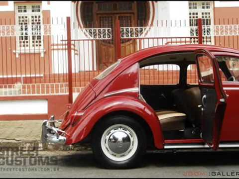 VINTAGE OLD VW BEETLE FOUR DOOR 1960 vw fusca old four-door transformed into year 1960 - YouTube