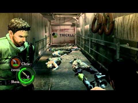 [Let's Test] Resident Evil 5 PC: ffdshow 1280x720