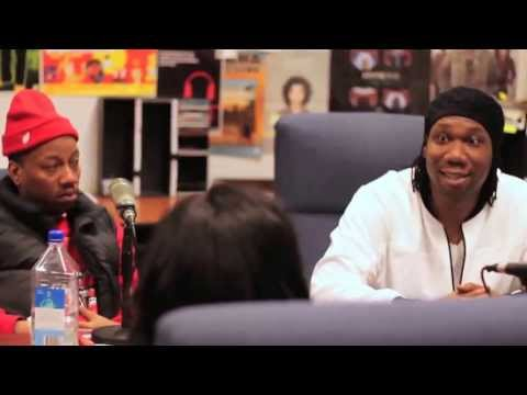 KRS-ONE & Planet Asia 90.7 Interview at Fresno State Part 3