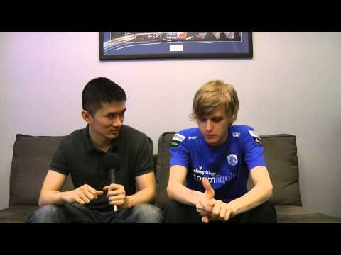 Liquid`Snute Interview @ WCS America Ro16