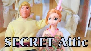 FROZEN Secret ATTIC Disney Frozen Anna Kristoff & Family Parody PLAY-DOH AllToyCollector