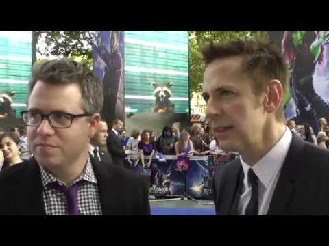 Director James Gunn & Producer Jeremy Latcham Interview - Guardians of the Galaxy Premiere