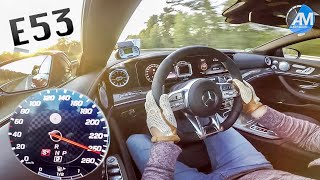 Mercedes-AMG E53 (435hp) - 0-250 km/h acceleration!