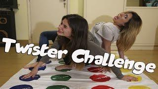 TWISTER CHALLENGE CON MI HERMANA | Melina Vallejos ft. Lyna