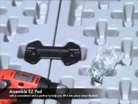 EZ Pads installation