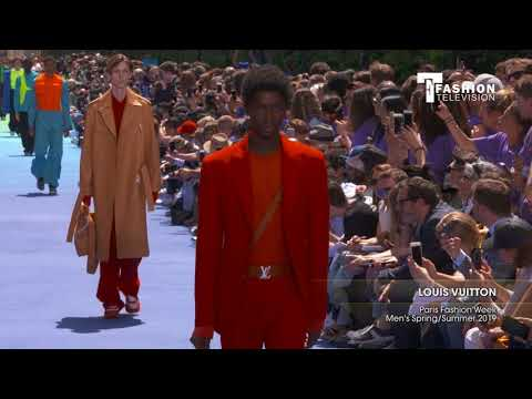 LOUIS VUITTON Paris Fashion Week Men's Spring/Summer 2019