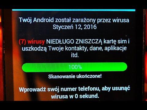 Virus w Telefonie jak usunąć Android Gedma A , poradnik