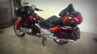Honda GL800 Goldwing with custom paint from Kestrel Honda
