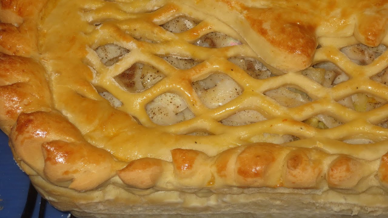 Рецепты рыбного пирога из дрожжевого теста пошагово в