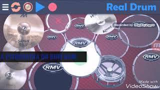 Real drum-Tocando musica de wesley safadao e leo santana pisiquiatra do bum bum.