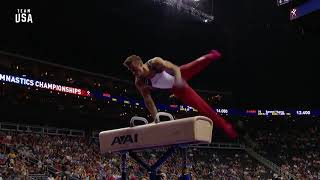Sam Mikulak Pommel Horse Routine | Champions Series Presented by Xfinity