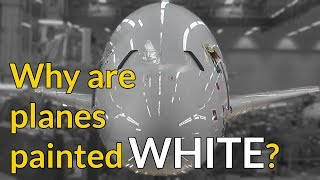 REASON WHY PLANES ARE PAINTED WHITE! Explained by CAPTAIN JOE