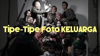 TIPE TIPE RUSUH ANAK BANYAK  FOTO KELUARGA