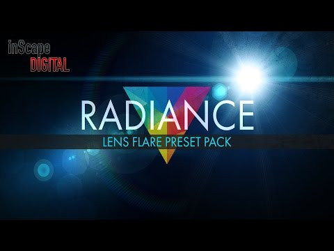 Radiance Lens Flare Preset Pack and New Website