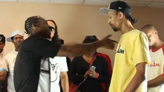AHAT Rap Battle | Trigaaah vs AK | Las Vegas vs Brooklyn New York
