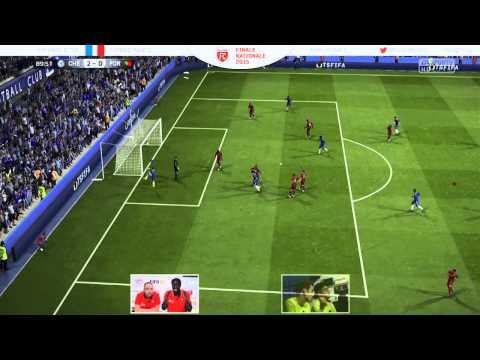 Retour sur la finale nationale de l'EA SPORTS FC 2015