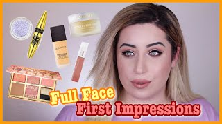 😱 FULL FACE FIRST IMPRESSIONS 💕 DROGERIE & HIGHEND 🔥 Jolina Mennen