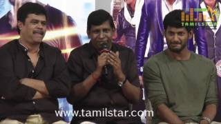 Kaththi Sandai Movie Press Meet