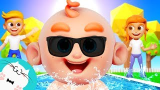 Swimming Song with Lyrics for Children - Pongo! #NurseryRhymes #KidsSongs