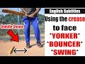 Cricket Batting Tips - Using the crease and playing (basic) | Nothing But Cricket