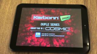 KARBONN Smart Tab 10 Duple Cosmic Unboxing and Hands on Review - iGyaan