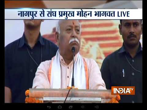 RSS chief Mohan Bhagwat makes big push for construction of Ram Temple, says 'govt must bring law'