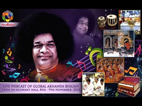 Global Akhanda Bhajans 2014 - Commencement - 8 Nov 2014