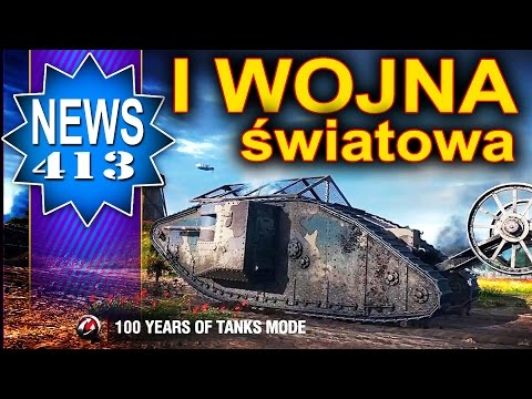I Wojna światowa W World Of Tanks? NEWS