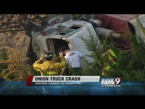 Truck Crash near Northside