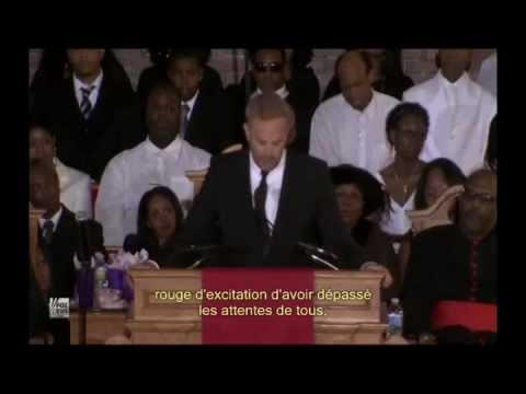 Kevin Costner's speech  -  Sous-titres français