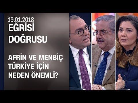 Afrin ve Menbiç Türkiye için neden önemli? - Eğrisi Doğrusu 19.01.2018 Cuma