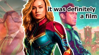 Captain Marvel Was A Film That Came Out