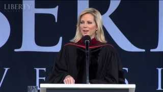Shannon Bream - Liberty University Commencement