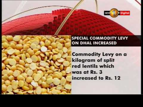 import tax on dhal i|eng