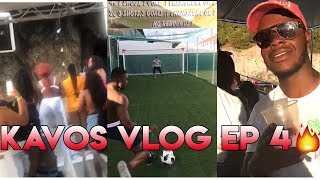 KAVOS VLOG LAST EP | BOAT PARTY,  EPIC PENALTY SHOOTOUT + WE ALMOST MISSED OUR FLIGHT!!!