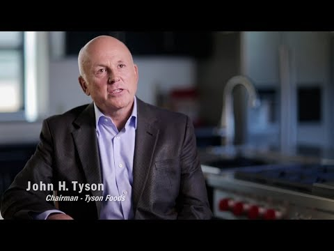 John Tyson on Tyson Foods' Core Values