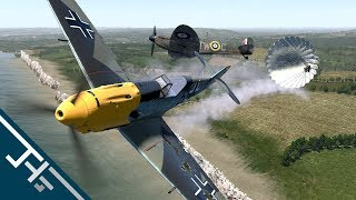 IL-2 Cliffs of Dover Blitz: Bf-109 E-4B - Hell over Wilmington [ATAG]
