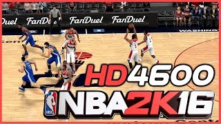 NBA 2K16 (2016) on Intel HD 4600 graphics | Low End PC Frame Rate