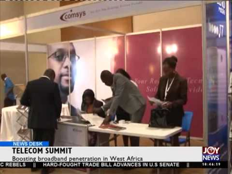 Telecom Summit - News Desk on Joy News (22-5-15)