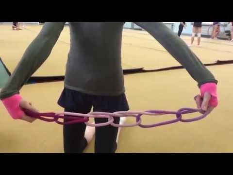 Как красиво завязать скакалку|RG