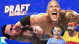 Royal Rumble DRAFT in WWE 2k19! K-City GAMING