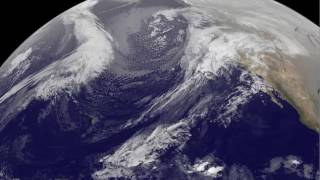 Satellite Animation Shows California Storms