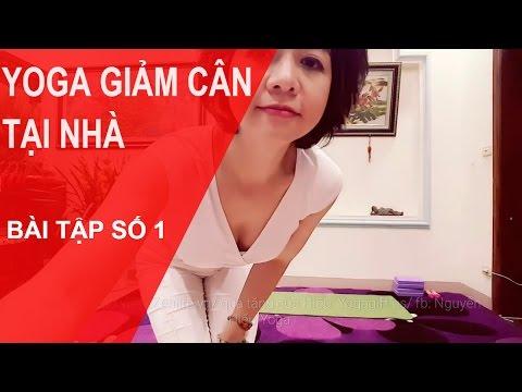 Yoga Giảm Cân Tại Nhà - Bài Tập Số 1 Cùng Chuyên Gia  Nguyễn Hiếu Yoga (Yoga For Weight Loss )