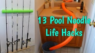 13 Amazing Pool Noodle Life Hacks