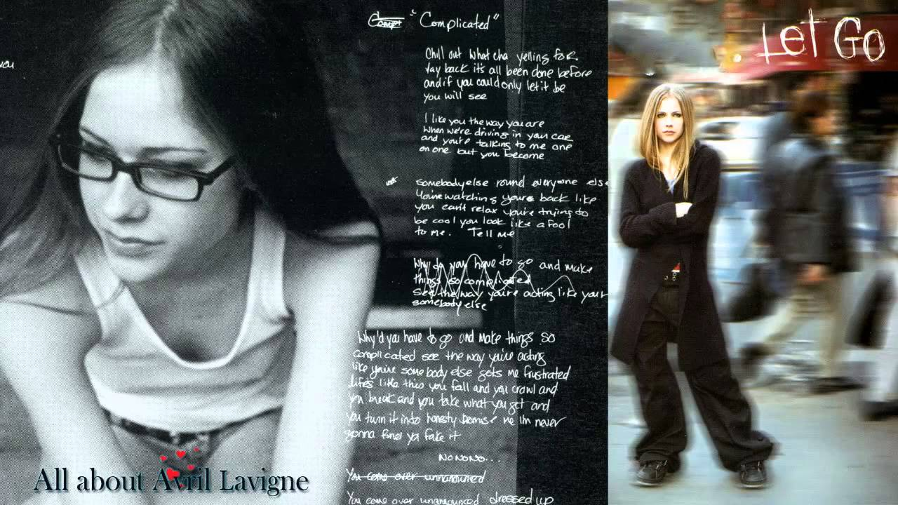 Avril Lavigne Albums Let go Avril Lavigne From Let go