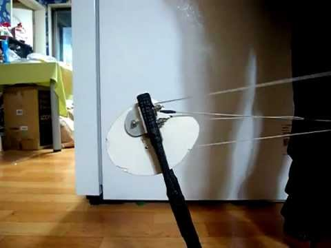 Homemade Compound Bow - 2 (CAM Test)