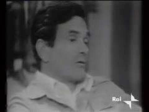 Biagi intervista Pier Paolo Pasolini